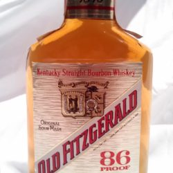old fitzgerald prime 86 proof 1987 - front