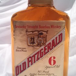 old fitzgerald prime 86 proof front