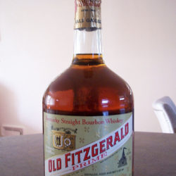 old_fitzgerald_prime_bourbon_7_year_86_proof_half_gallon_1970_front