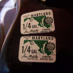 old_fitzgerald_prime_bourbon_7_year_86_proof_half_gallon_1970_stamps