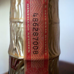old_fitzgerald_prime_bourbon_7_year_86_proof_half_gallon_1970_strip1