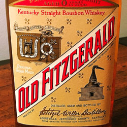 old_fitzgerald_prime_first_edition_bourbon_86_8_proof_8_year_1964_front_label