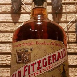 old fitzgerald prime bourbon half gallon front