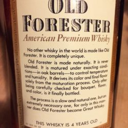 old_forester_4yr_86_proof_bourbon_1978_back_label
