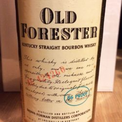 old_forester_4yr_86_proof_bourbon_1978_front_label