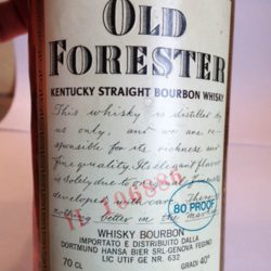 old_forester_80pf_1977_front_label