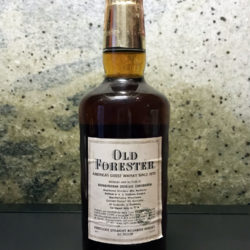 old_forester_86_proof_bourbon_italian_export_1965_back