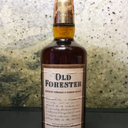 old_forester_86_proof_bourbon_italian_export_1965_front