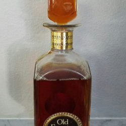 old_forester_bourbon_bonded_decanter_1964_1969__detail