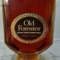 old_forester_bourbon_bonded_decanter_1964_1969__front_label