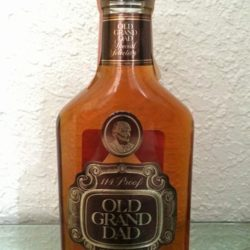 old grand dad 114 bourbon lot 1 200ml 1981 front