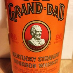 old_grand_dad_86_proof_bourbon_750ml_1991_front_label