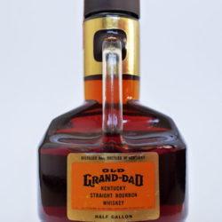 old_grand_dad_86_proof_bourbon_half_gallon_1974_back