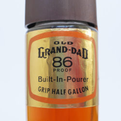 old_grand_dad_86_proof_bourbon_half_gallon_1974_neck