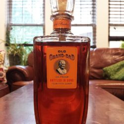 old grand dad bonded bourbon decanter 1961 front