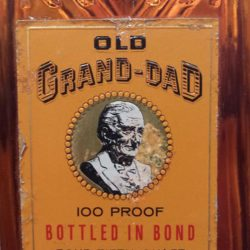 old_grand_dad_bonded_decanter_1962_front_label