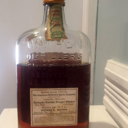 old_grand_dad_bonded_medicinal_pint_bourbon_wathen_