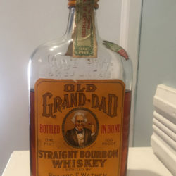 old_grand_dad_bonded_medicinal_pint_bourbon_wathen_front