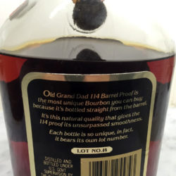 old_grand_dad_bourbon_114_lot_8_1982_back_label