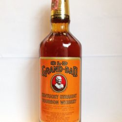 old grand dad bourbon export version 1987 front