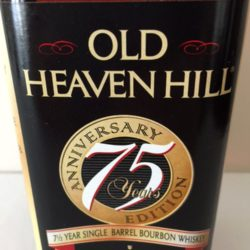 old_heaven_hill_75th_anniversary_bourbon_front_label