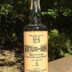 old joe 21 brands bonded bourbon 1952 front