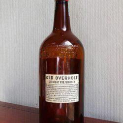 old overholt bonded rye 1940 - back