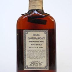 old_overholt_pennsylvania_rye_8yr_bonded_half_pint_1951_1962_back