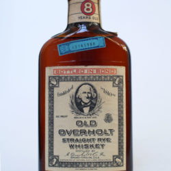 old_overholt_pennsylvania_rye_8yr_bonded_half_pint_1951_1962_front