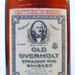 old_overholt_pennsylvania_rye_8yr_bonded_half_pint_1951_1962_front_label