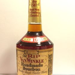 old rip van winkle 10 year 107 proof bourbon 1989 front