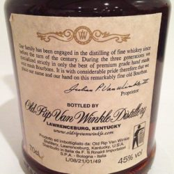 old_rip_van_winkle_10_90_lawrenceburg_2000_back_label