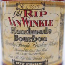 old_rip_van_winkle_10_year_107_proof_bourbon_lawrenceburg_2000_front_label