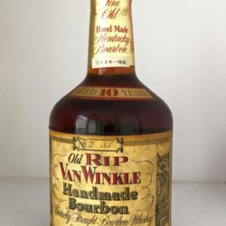 old rip van winkle 10 year 107 proof bourbon 1980 front