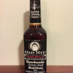 old rip van winkle 12 year 105 proof bourbon front