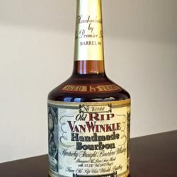 old rip van winkle 15 year bourbon single barrel premier group front