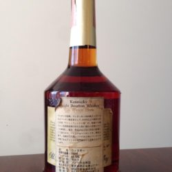 old rip van winkle 15 year bourbon lawrenceburg 1990 - back