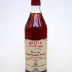 old_rip_van_winkle_20_year_old_bourbon_sams_single_barrel_front