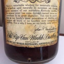 old_rip_van_winkle_7_year_bourbon_1974_back_label