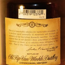 old_rip_van_winkle_old_time_rye_12_back_label
