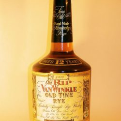 old rip van winkle old time rye whiskey 12 year - front