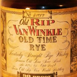 old_rip_van_winkle_old_time_rye_12_front_label