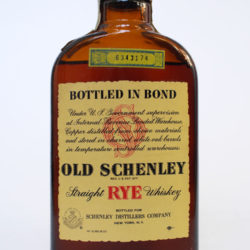 old_schenley_bonded_pennsylvania_rye_1959_1968_half_pint_front