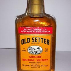 old setter bourbon 1988 front