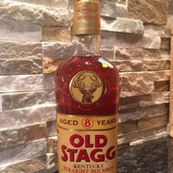 old_stagg_bourbon_8_year_80_proof_1966_front