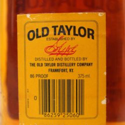 old_taylor_6_year_86_proof_375ml_1986_back_label