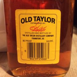 old_taylor_6yr_86_proof_500ml_bourbon_1982_back_label