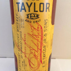 old_taylor_bonded_bourbon_1915-1919_front_label