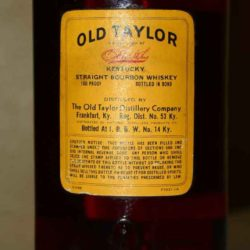 old_taylor_bonded_bourbon_1958_back_label