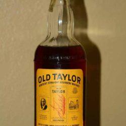 old_taylor_bonded_bourbon_1958_front